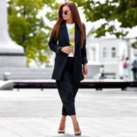 Удлиненный пиджак 6971