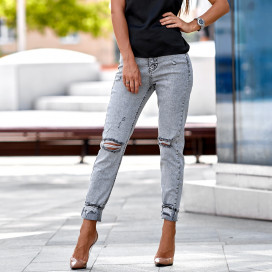 Обтягивающие джинсы 1474-4