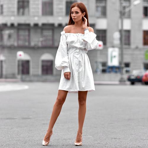Платье льняное 11311