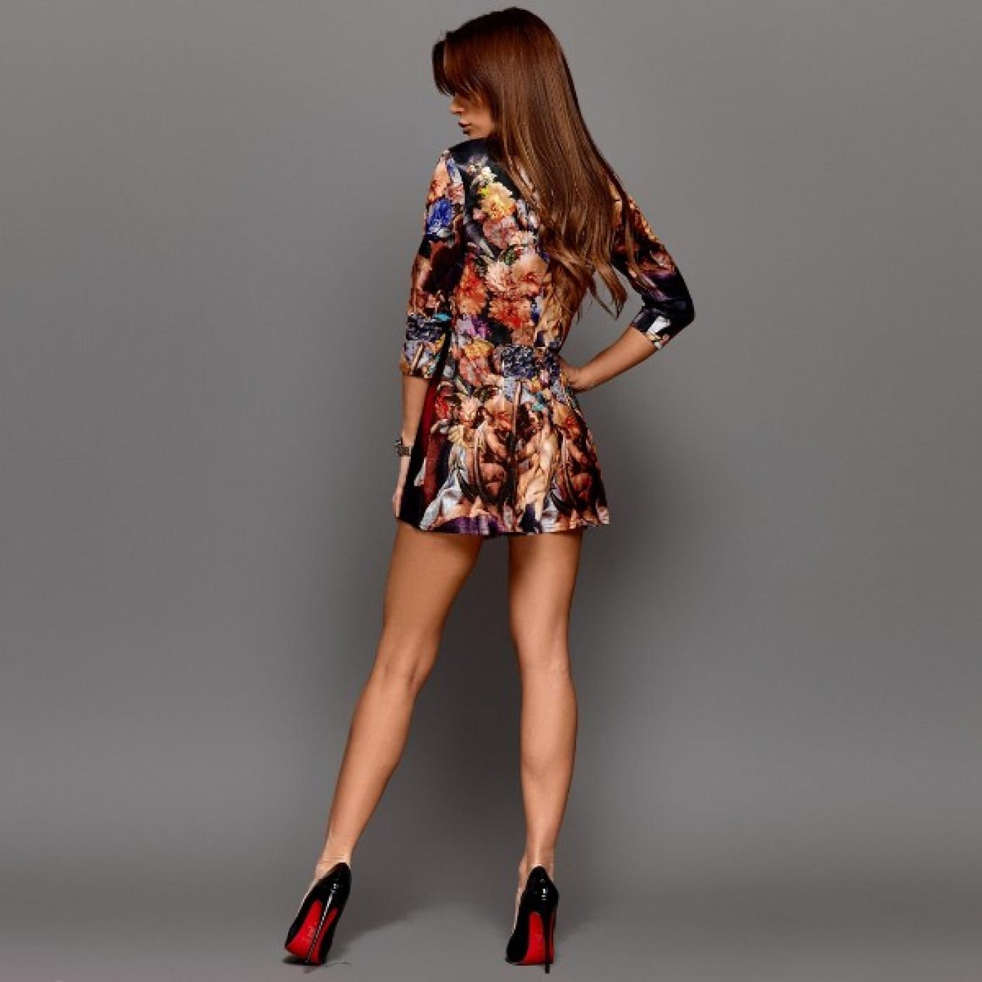 Ультрамодний сукню-комбінезон 10993