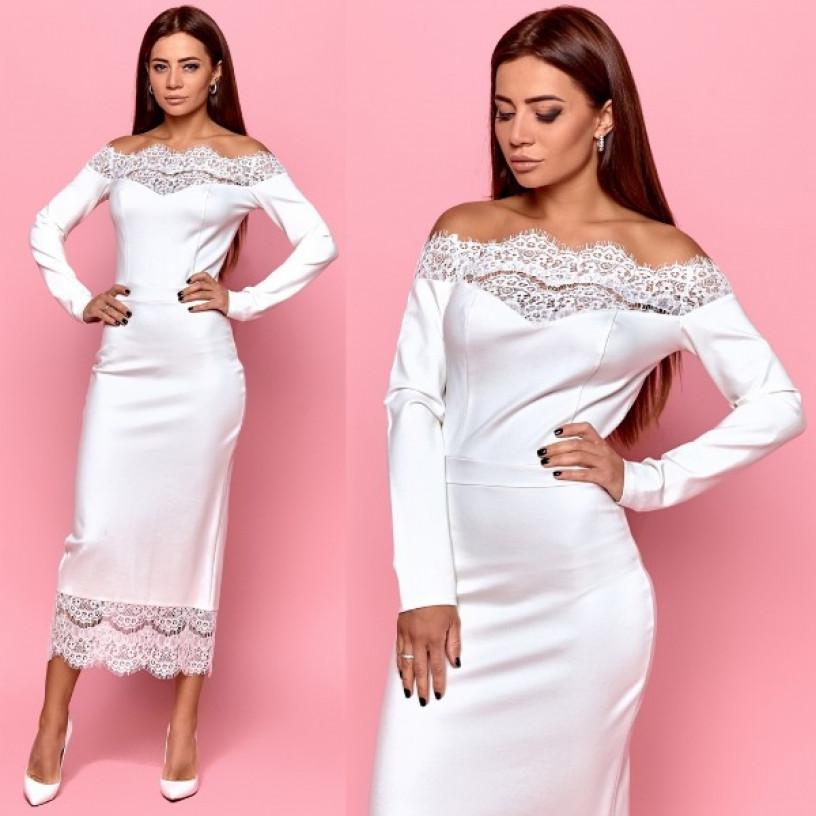 Изысканное вечернее платье 11238