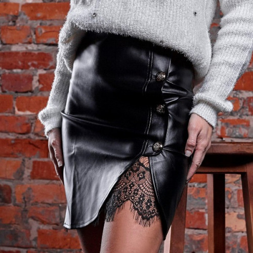 Кожаная юбка в Украине