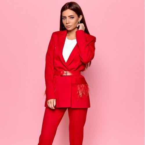 Женский деловой костюм 11234