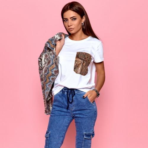 Стильная женская футболка 616-6