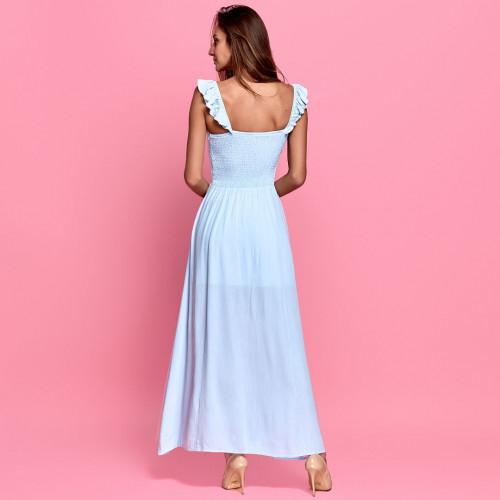 Платье подол с разрезом 337-0