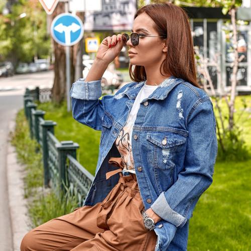 Куртка джинсовая 51028