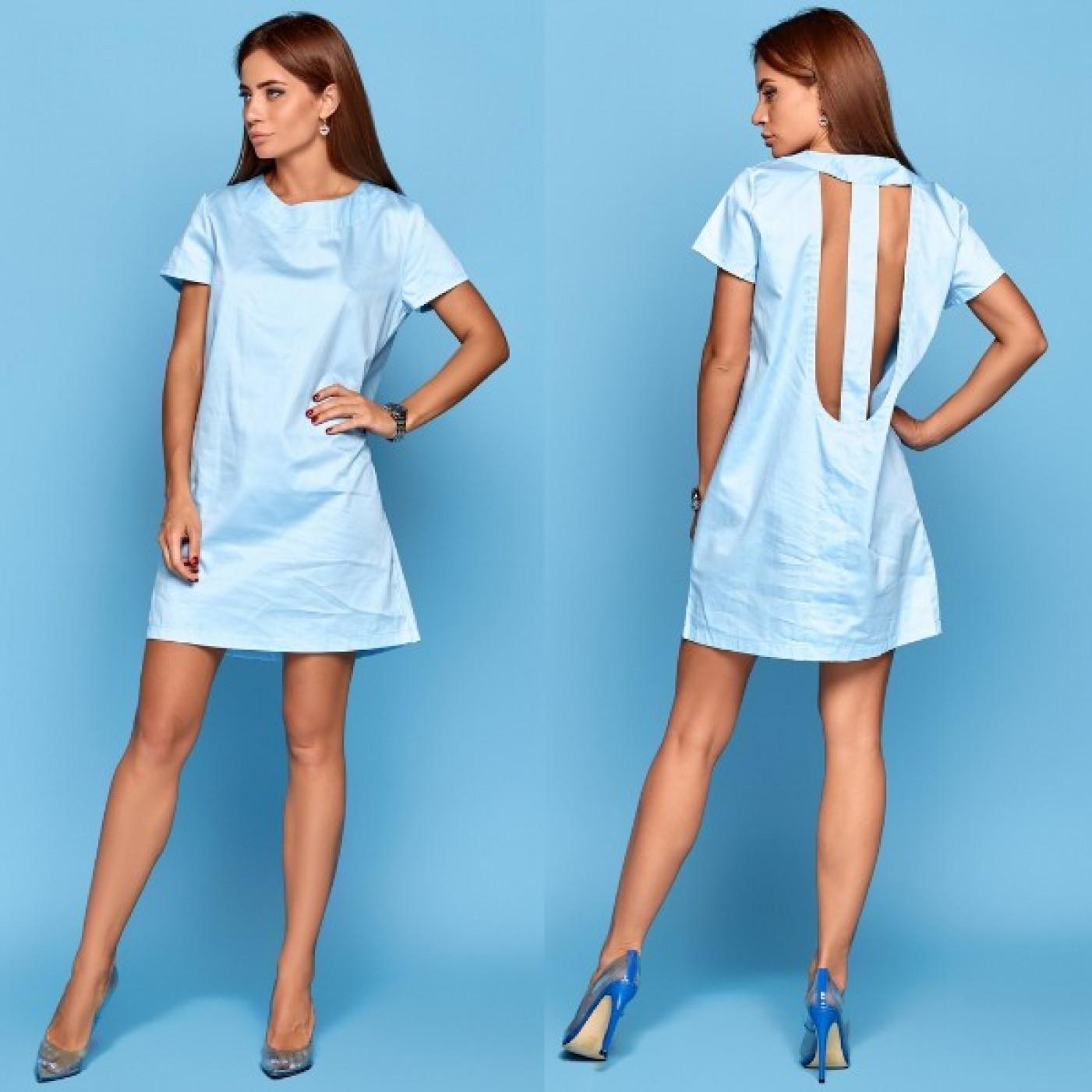 Сукня з вирізом 10834