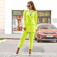 Яркий летний костюм с пиджаком 2126-1303