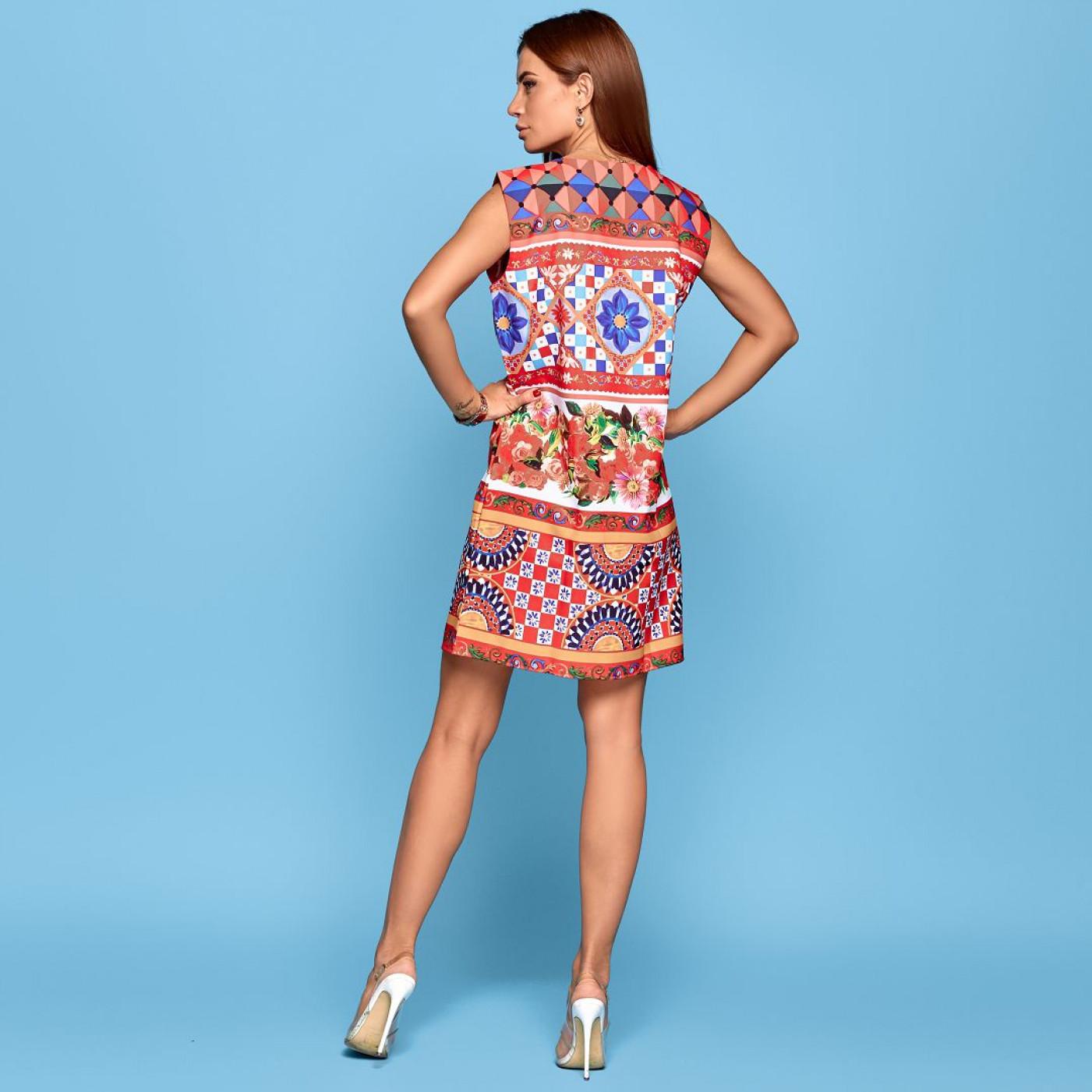 Платье взрослое familylook 10845