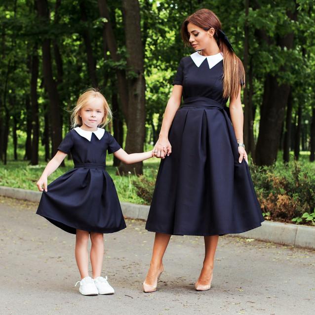Стильное женское платье Family look 11300