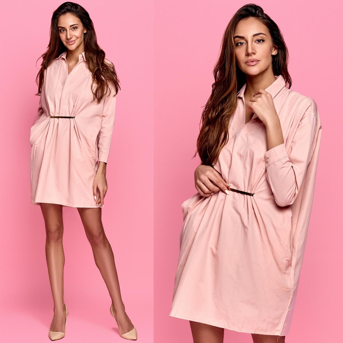 Платье с карманами 6859