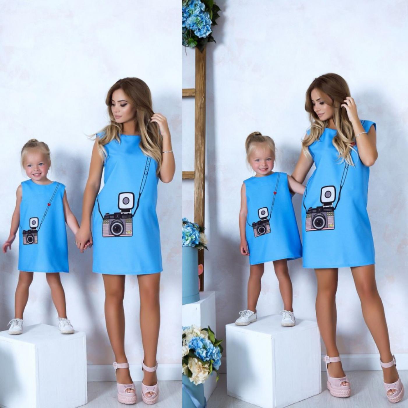 Жіноче плаття Family look 10812