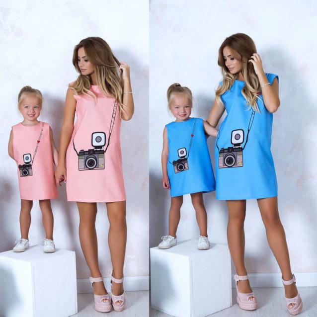 Женское платье Family look 10812