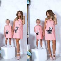 Платье детское familylook 10813