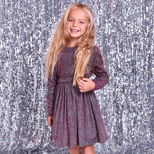 Платье детское Family Look люрекс 11416