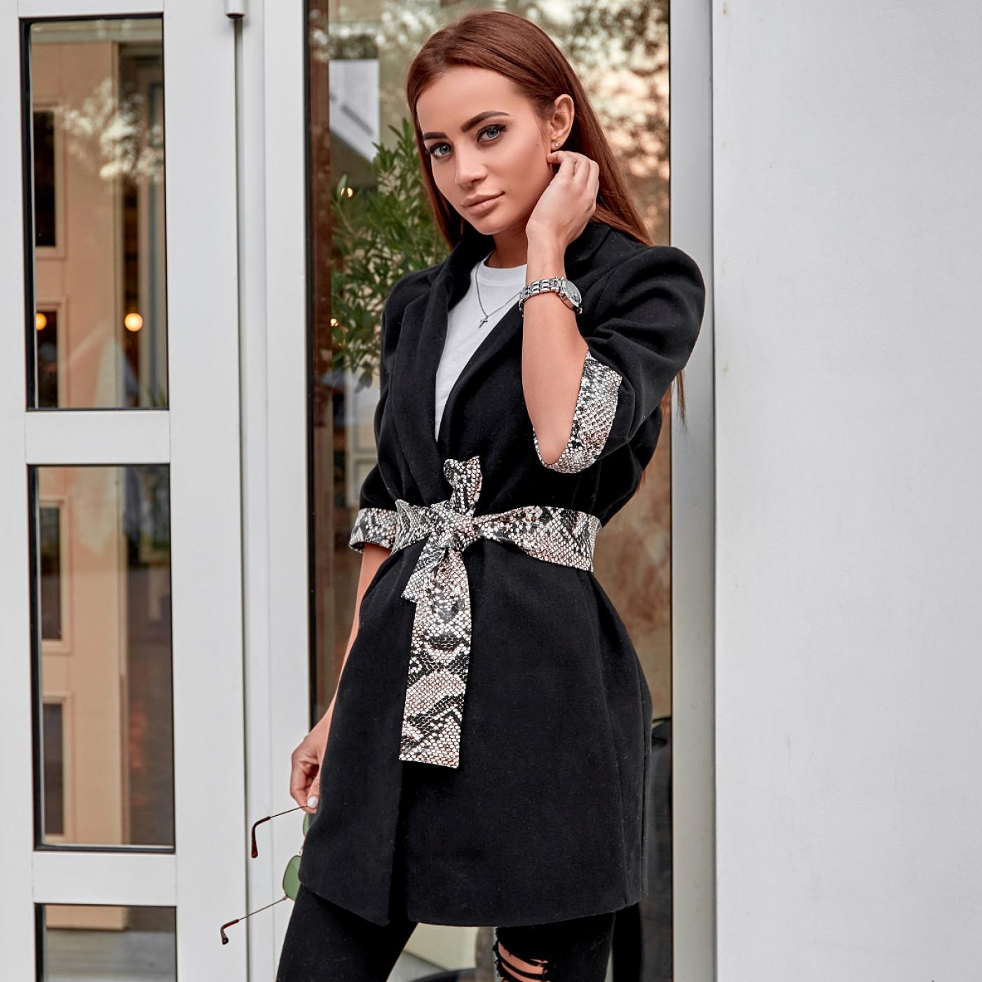 Пальто оригінальне з кашеміру 10989
