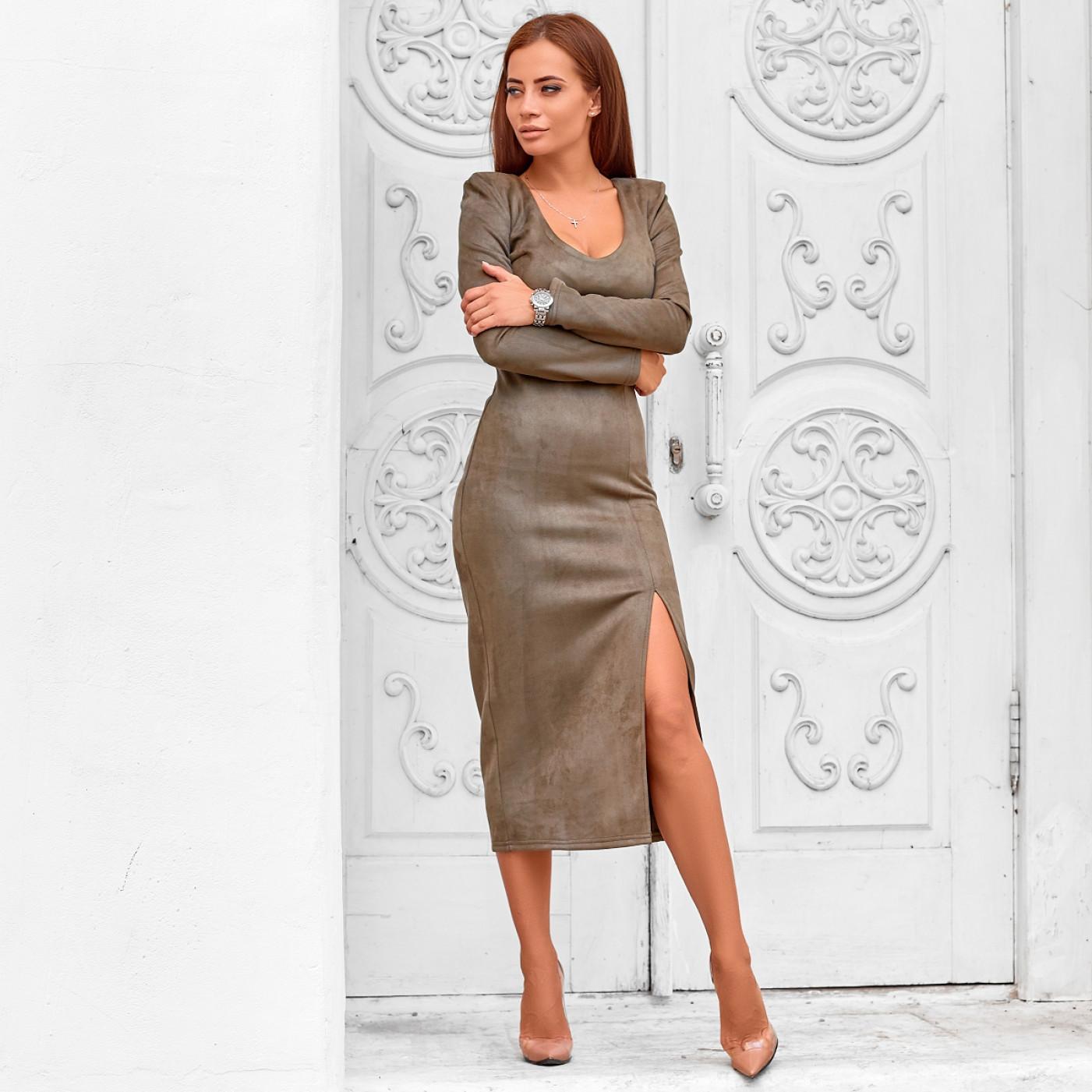 Замшеве плаття 11199