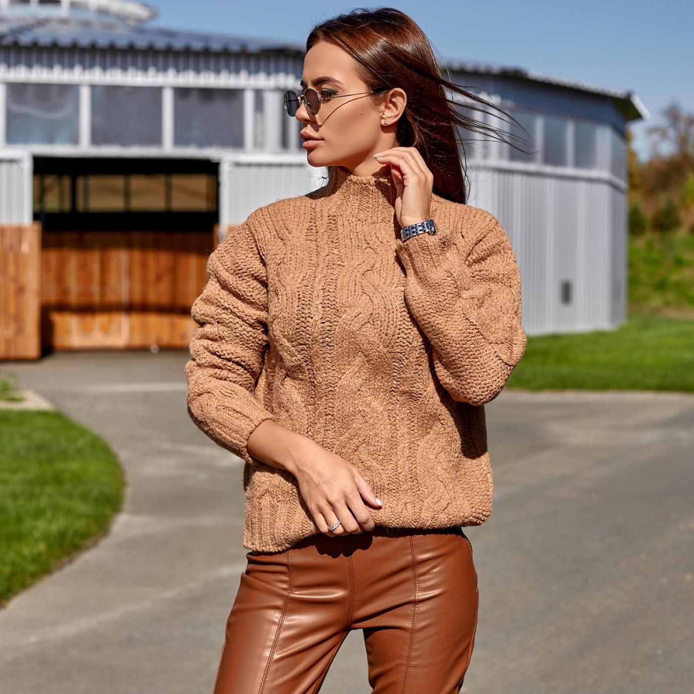 Теплий светр з високим горлом 3130-1