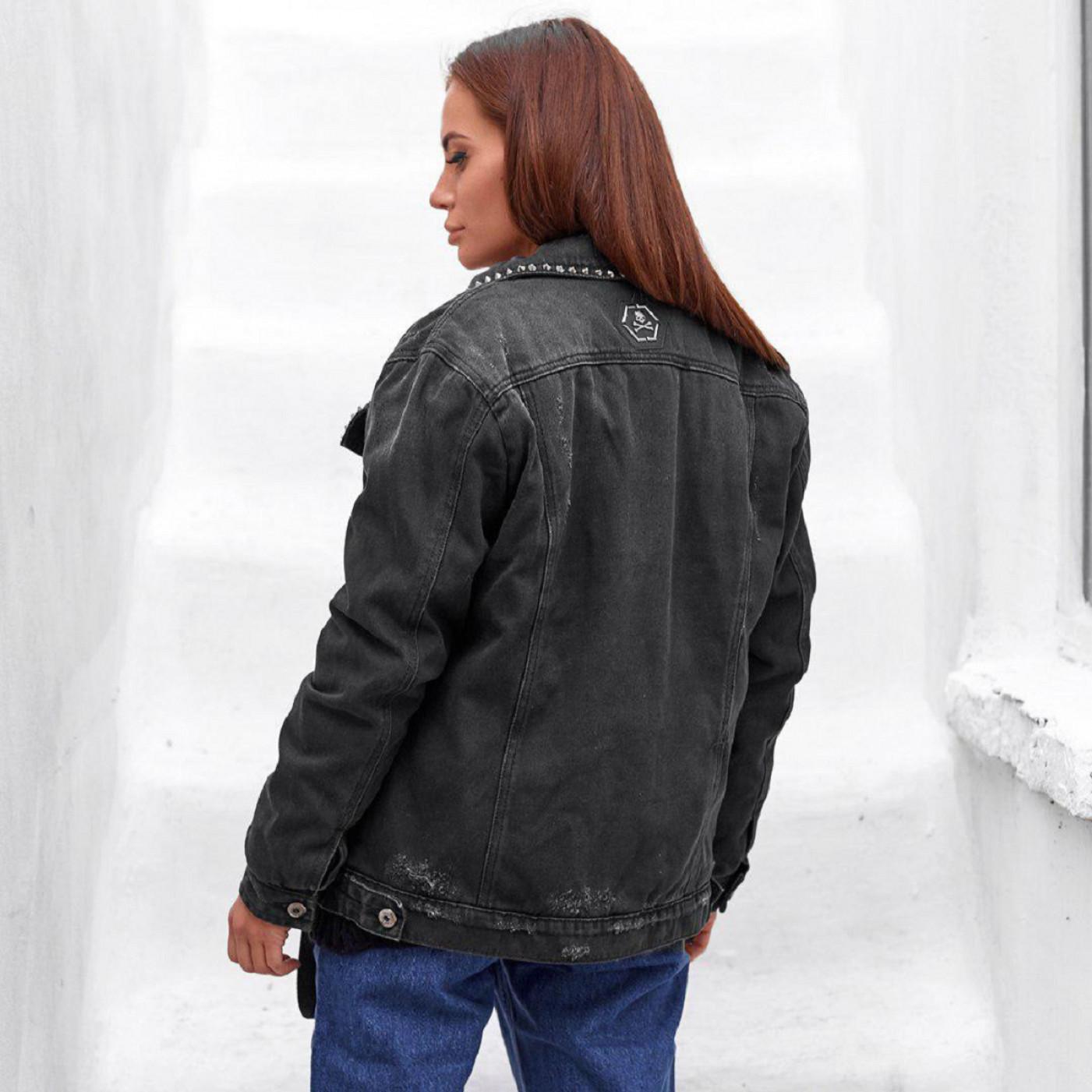 Утеплення джинсова куртка 1006-0