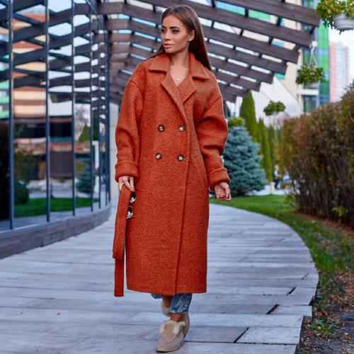 Пальто букле 11356