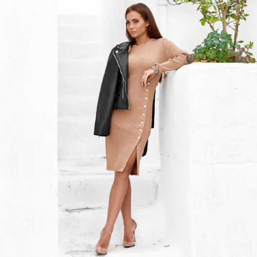 Красивое платье средней длины
