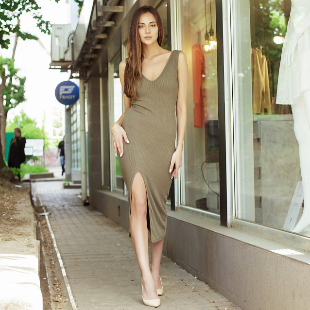 Облегающее вечернее платье 53132