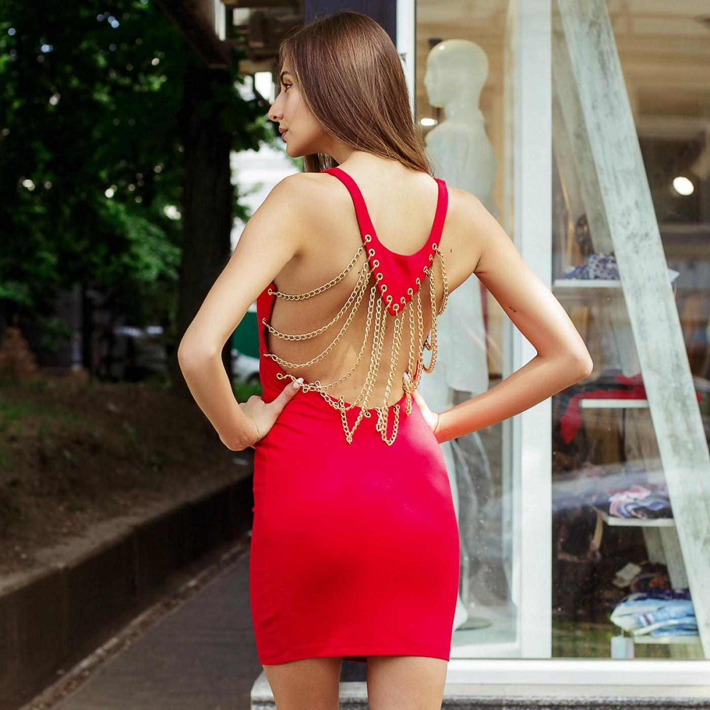 Вечірнє коротке плаття 52992