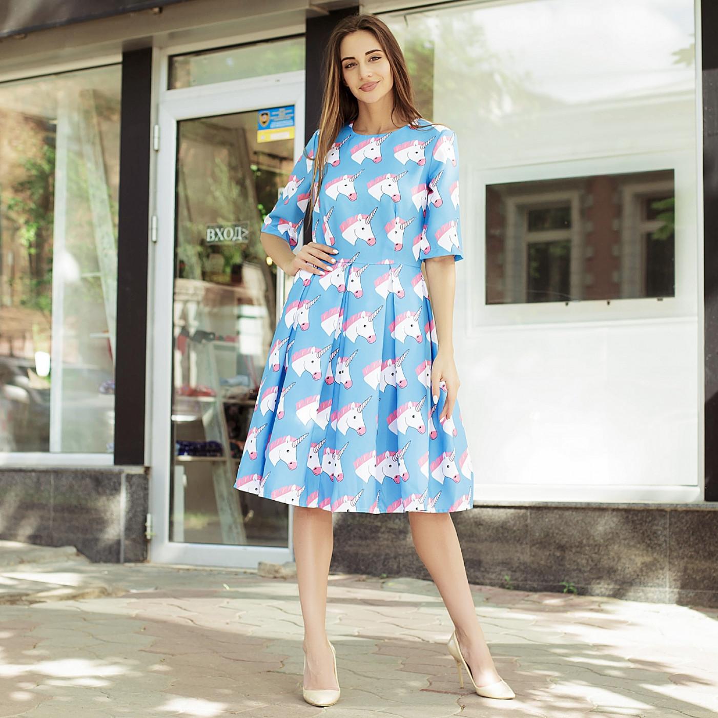 Платье взрослое familylook 10862