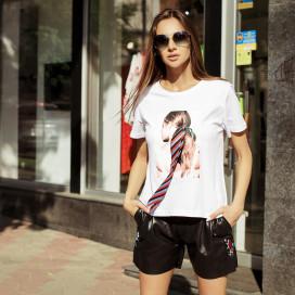Короткие женские шорты 9082