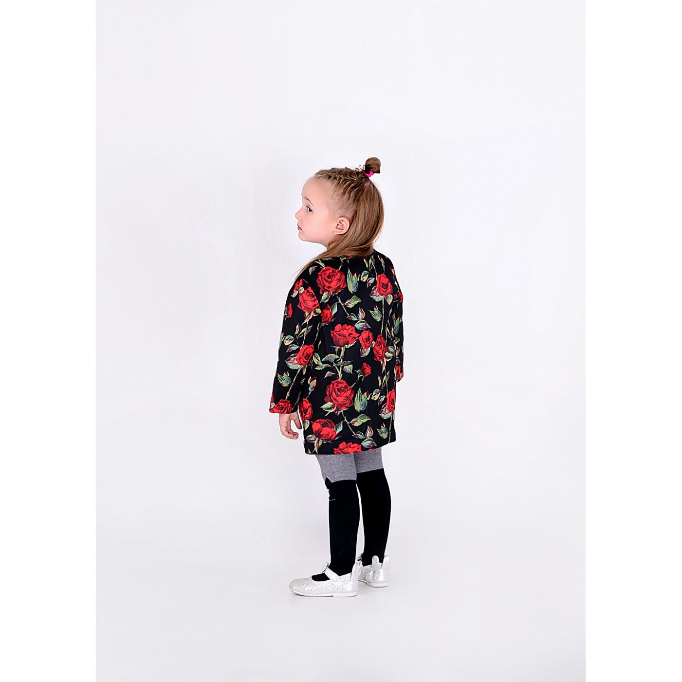 Пальто дитяче familylook Роза 10313