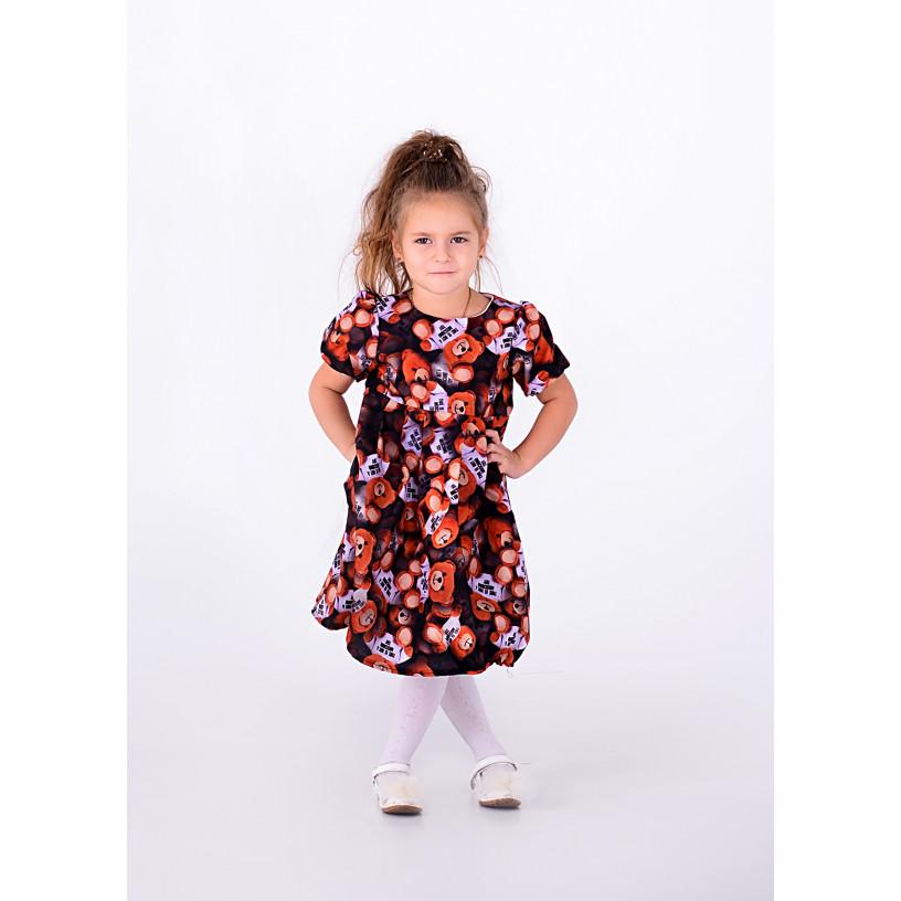 Платье ДЕТСКОЕ МИШКИ 10444