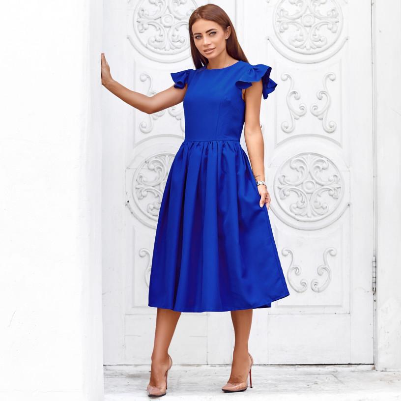 Платье золушка длина миди 10620