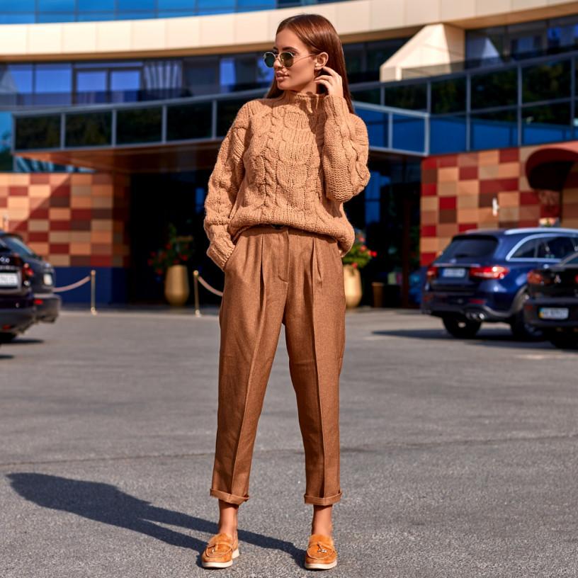 Вільні класичні брюки 70596