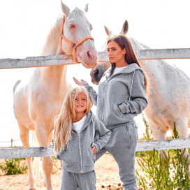 Детский костюм с начесом Family Look 11367