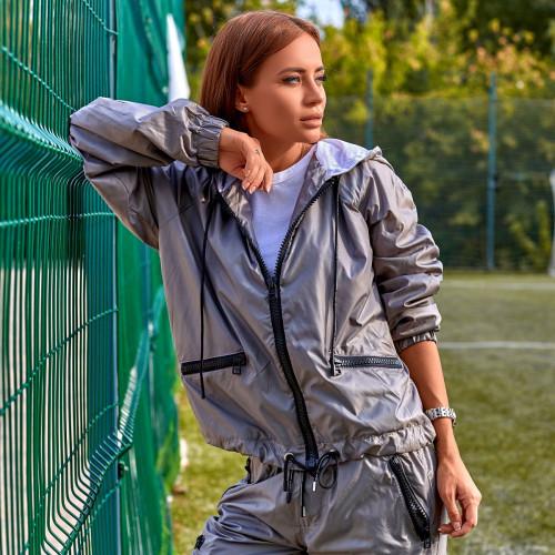 Спортивный костюм с карманами 4550