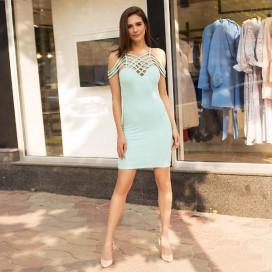 Яркое соблазнительное платье 50213