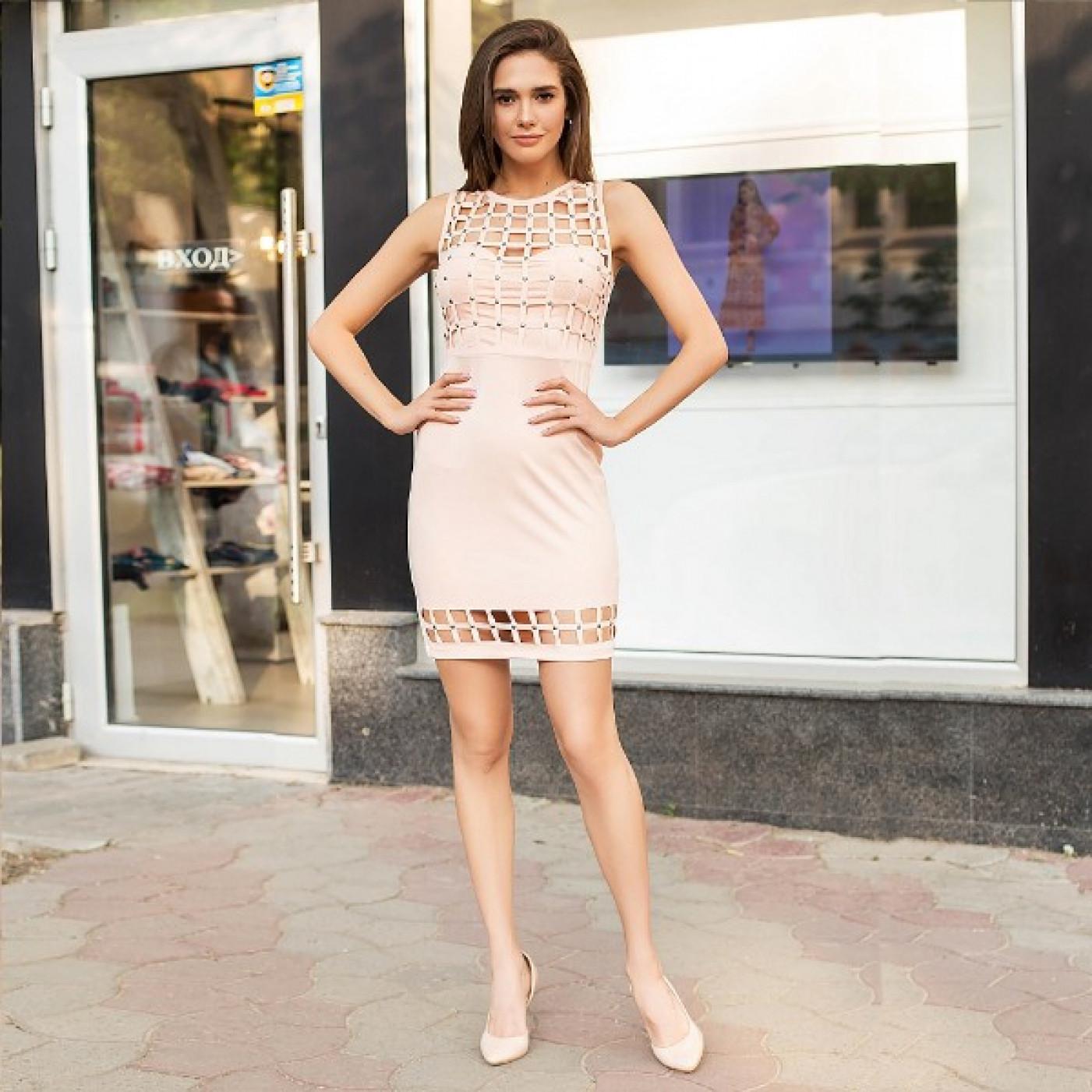 Коротке плаття, що облягає 50264