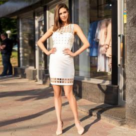 Короткое облегающее платье 50264