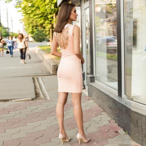 Платье яркое облегающее 50270