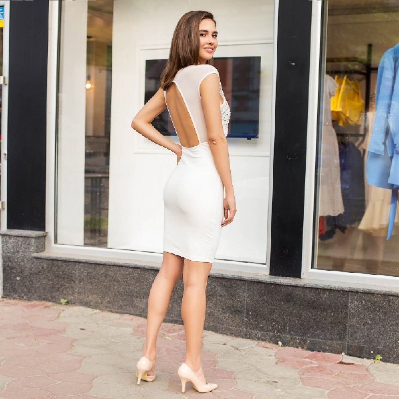 Оригінальна відверту сукню 50306