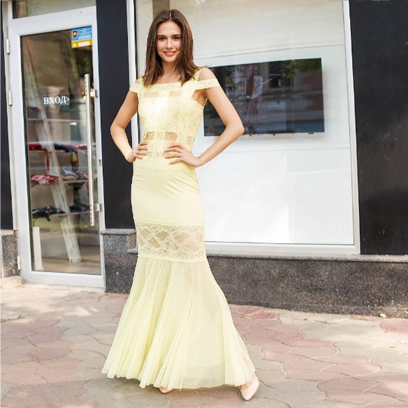 Платье вечернее в пол 51687