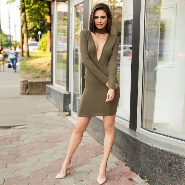 Облегающее платье 53726