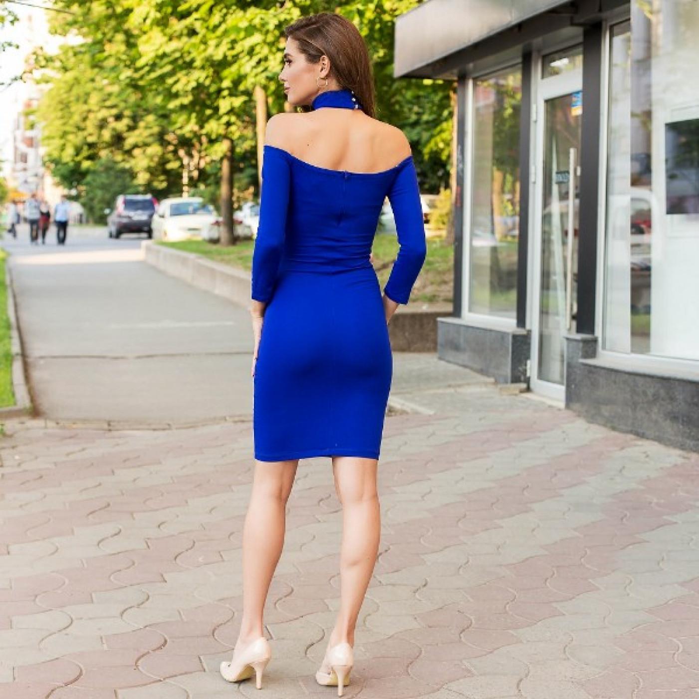 Приталені плаття з відкритими плечима 53746
