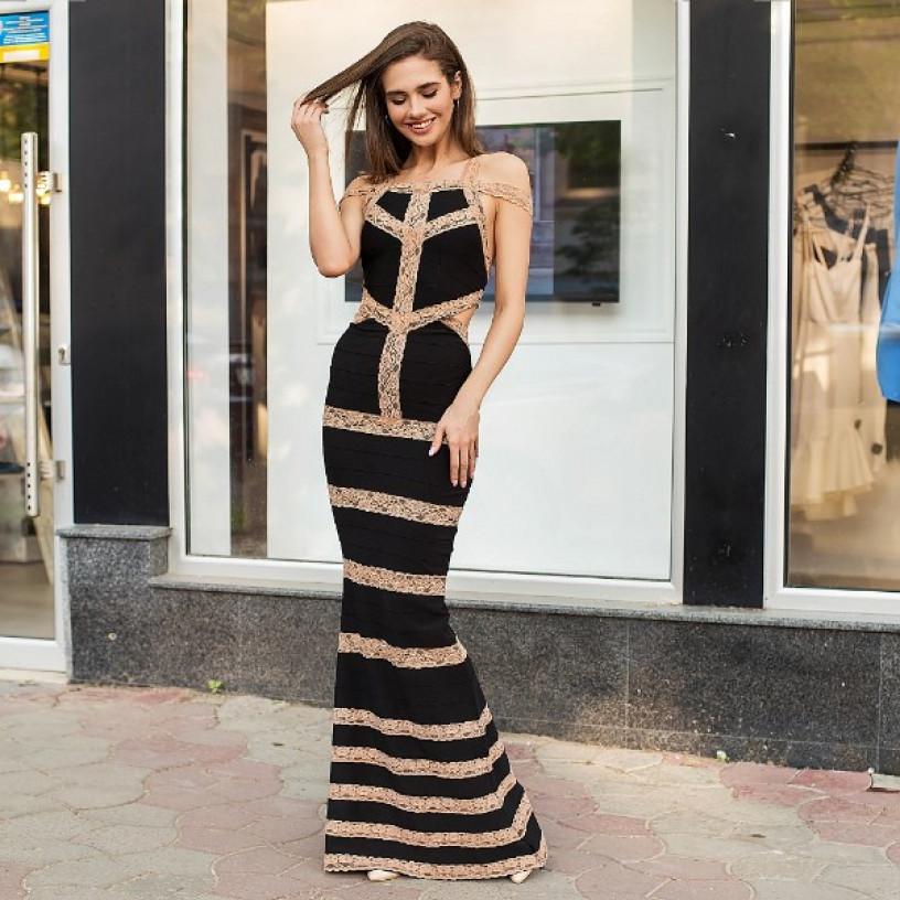 Елегантне вечірнє плаття 52334
