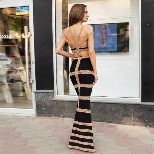 Элегантное вечернее платье 52334
