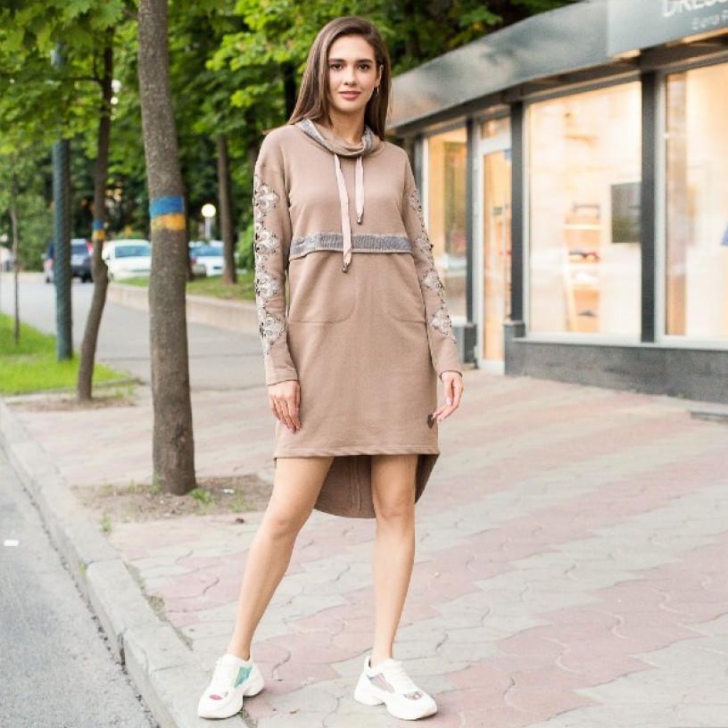 Сукня з капюшоном 790-006