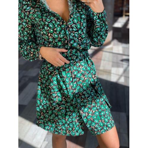 Весеннее яркое платье 1116-0