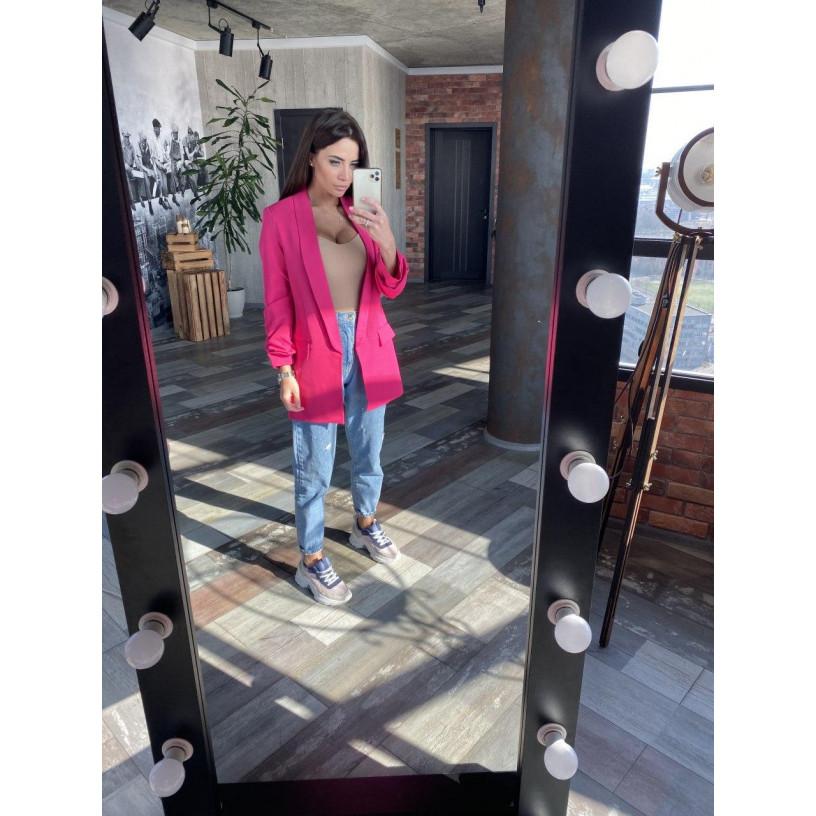 Удлиненный пиджак 126-0