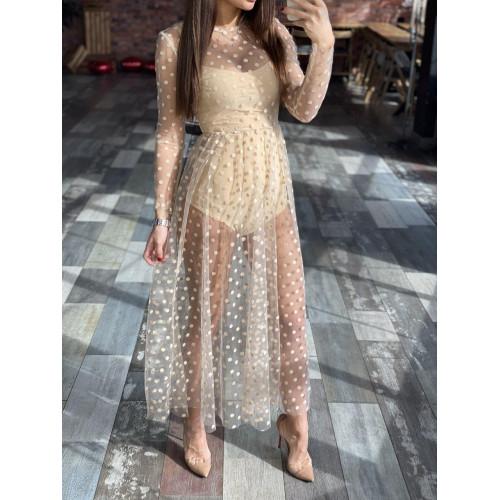 Элегантное платье-тройка 11465