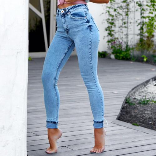 Облегающие джинсы 1329-1